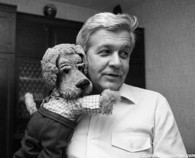 Лишь в сентябре 1968 года к персонажам присоединяется первый, просуществовавший до сих пор участник - пес Филя .