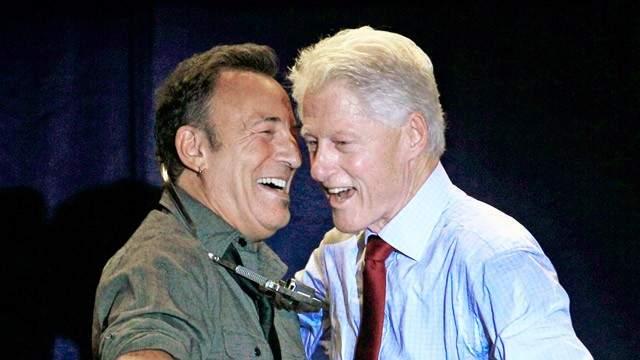 Брюс Спрингстин и Билл Клинтон. Это только казалось, что Клинтон обожает саксофон. На самом деле он обожал рок.