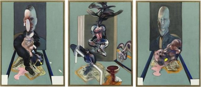 "$86 300 000. ""Триптих"" , Фрэнсис Бэкон, 1976 год."