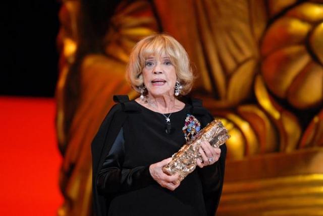 """Последний раз 88-летняя актриса появилась в фильме 2012 года """"Жебо и тень""""."""
