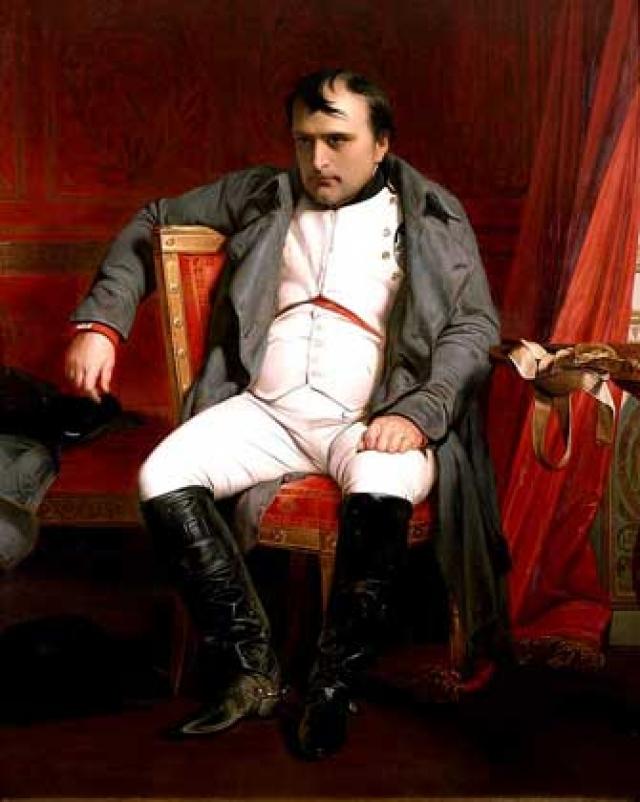 Наполеон и Анна Павловна. Наполеон считал брак с сестрой русского императора очень выгодным с политической точки зрения.
