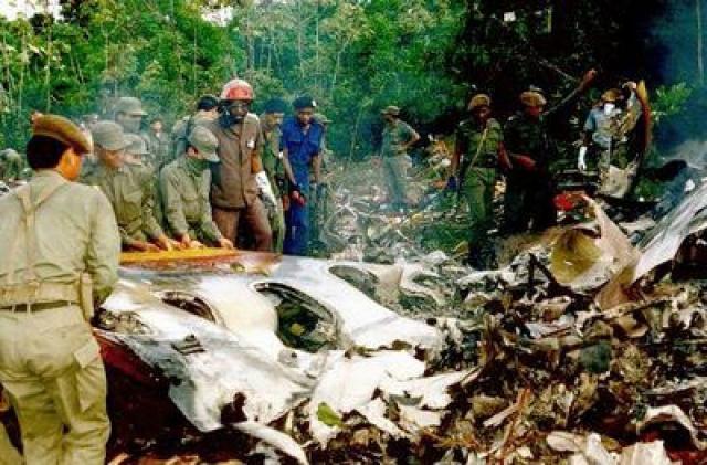 7 июня 1989 года. Самолет Douglas DC-8 суринамской компании Surinam Airways, совершавшего авиарейс по маршруту Амстердам — Парамарибо, потерпел крушение.