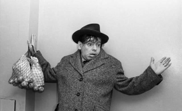 "Аркадий Райкин. Съемка для журнала ""Огонек"". Автор Кривоносов Юрий, 1961 год"