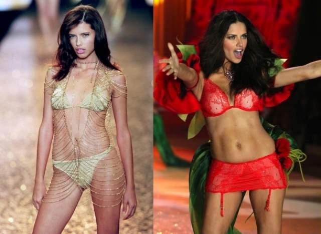 Адриана Лима Бразильская супермодель с выразительным взглядом и яркой внешностью подписала контракт с Victoria's Secret еще в 1999 году.