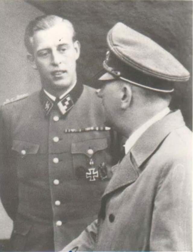 Отто Гюнше (1917-2003) С 12 января 1943 года - личный адьютант Адольфа Гитлера. 30 апреля 1945 года получил личное поручение фюрера: сжечь трупы Гитлера и Евы Браун.