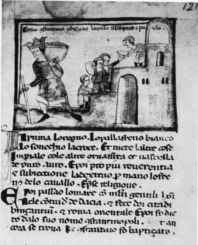 """Этот документ якобы подтверждал право папы римского на владение западной частью Римской империи. Как выяснили историки, эта фальсификация была """"сработана"""" Пипином III Коротким, и папским двором."""