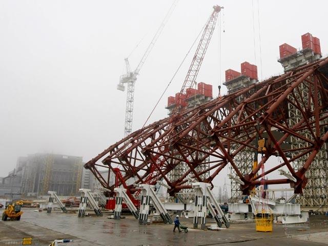 3 марта 2012 года министр по чрезвычайным ситуациям Украины Виктор Балога заявил, что на Чернобыльской АЭС уже начались работы по установке нового саркофага.