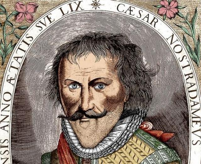 Сезар Нострадамус. Младший сын великого предсказателя мечтал затмить родителя своей славой. Для этого он предсказал гибель города Пузена в огне.