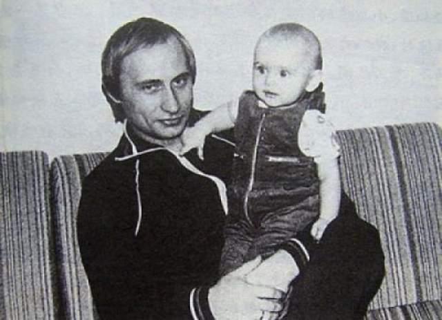Владимир Путин со старшей дочерью - Марией