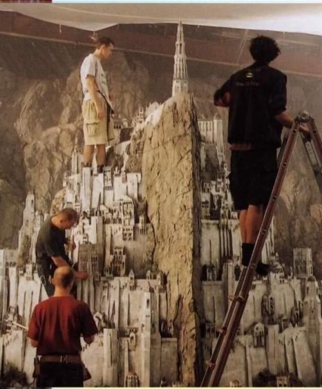 """В кино все зависит от перспективы. А в реальности крепость Минас Тирит во """"Властелине колец"""" выглядела чуть-чуть по-иному."""
