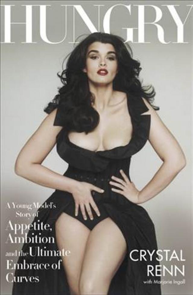 Кристал Ренн. Пожалуй, именно она является самой известной в мире моделью с пышными формами.