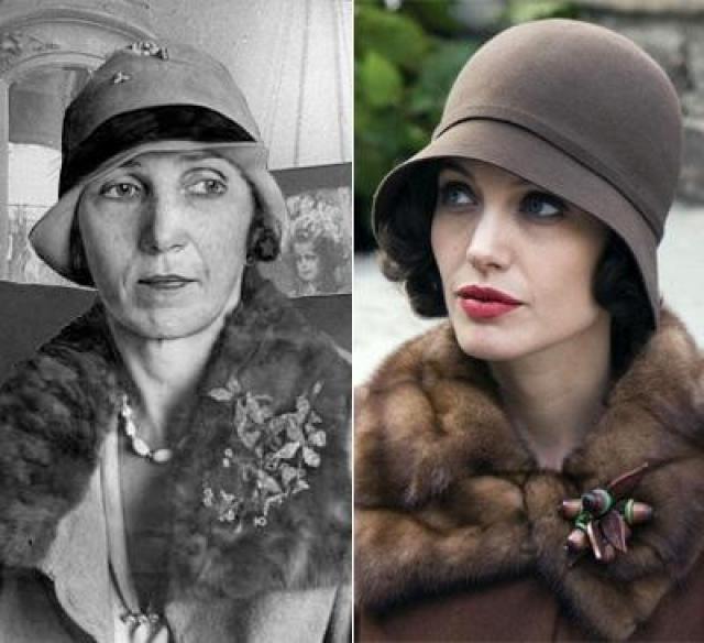 """Кристин Коллинз и Анджелина Джоли , """"Подмена""""."""