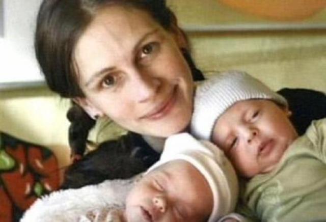 Джулия Робертс. Своих первенцев актриса родила в 2004 году, когда ей было уже 37 лет.