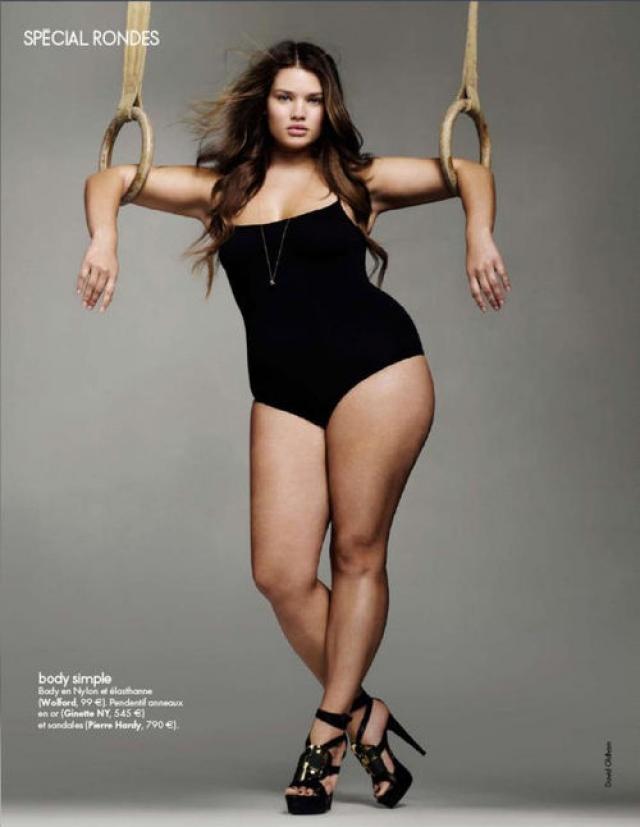 У Линн подписан контракт с самым крупным в мире модельным агентством IMG.