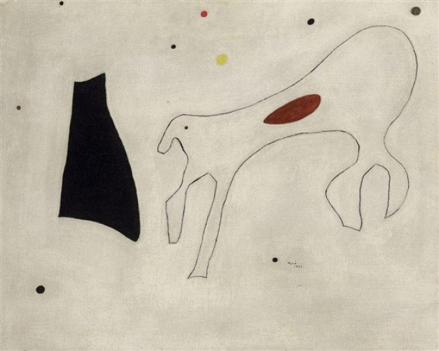 """Картина (Собака)"" Жоан Миро – 2,2 млн. долларов"