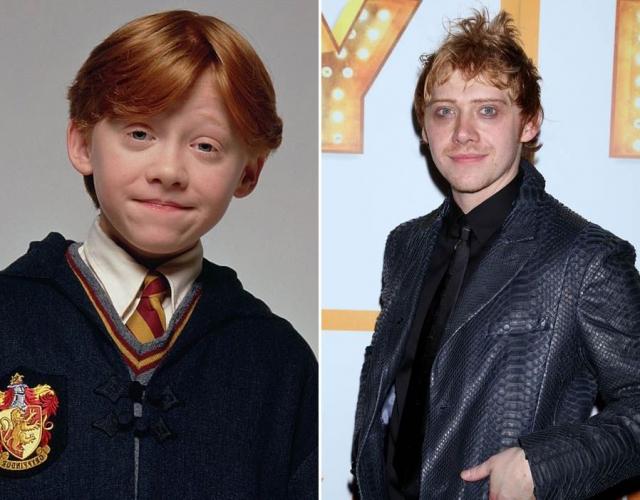 """Руперт Гринт , """"Гарри Поттер""""."""