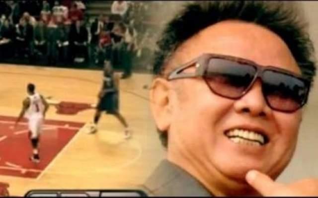 Ким Чен Ир А вот корейский государственный, партийный и военный деятель Ким Чен Ир был преданным поклонником баскетболиста Майкла Джордана. В доказательство тому может послужить тот факт, что в коллекции его видеозаписей присутствовали все игры знаменитого баскетболиста.