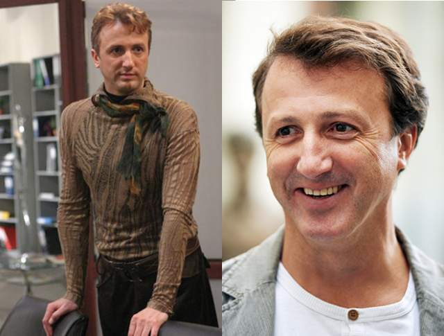 Виталий Егоров — Милко Вуканович, 49 лет. Сыгравший дизайнера-гомосексуала Виталий Егоров в реальной жизни абсолютный натурал.