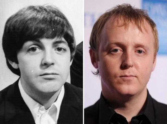 Джеймс Маккартни Британский музыкант мультинструменталист и автор песен. Единственный сын Пола Маккартни и Линды Маккартни, принимал участие в записи ряда сольных альбомов родителей.