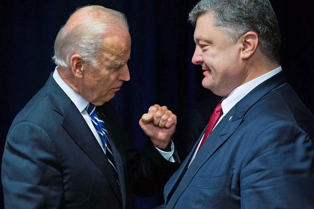"""С тех пор как наша страна стала независимой, правильно говорить """"в Украине"""", а не """"на Украине"""". Но на встрече с вице-президентом США президент Украины решил иначе, что вызвало настоящую бурю в Сети."""