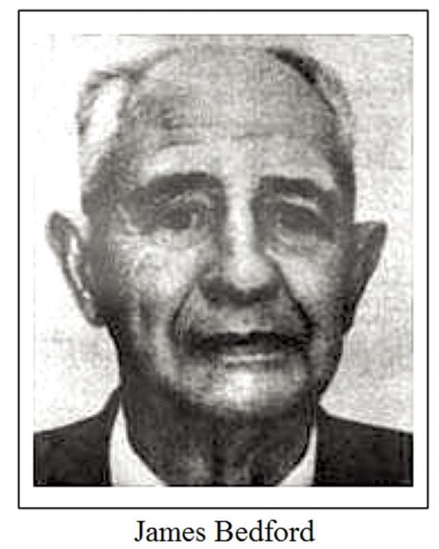 Джеймс Бедфорд. Ученый работал профессором психологии Калифорнийского университета. В 1965 году он откликнулся на предложение специалистов по крионированию: бесплатно заморозить тело первого добровольца. Его кандидатура была утверждена, и крионирование произошло в Калифорнии 12 января 1967 года.