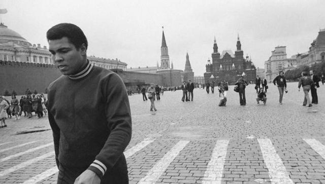 Мохаммед Али , 1978. Знаменитый боксер приезжал в СССР туристом.