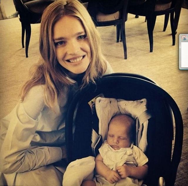 Наталья Водянова. Бывшая модель – счастливая мама пятерых детей.