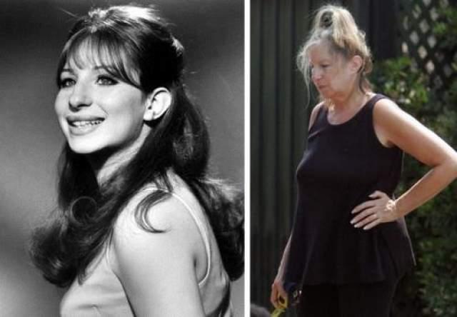 """Барбара Стрейзанд ЗВезда """"Некрасивой девчонки"""" Барбара не скрывает свой возраст и не молодится."""