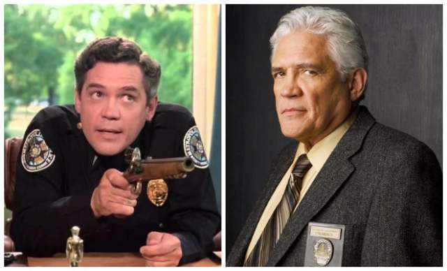 Джордж Бэйли, 74 года - лейтенант Харрис. Он играл в первой части серии роль жестокого и самовлюбленного человека, хотя в жизни это очень мягкий и добросердечный человек.