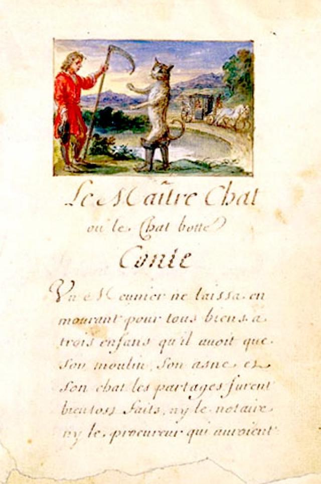 """В 1697 году вышел его сборник """"Сказки матушки Гусыни"""", который содержал восемь сказок, представлявших собой литературную обработку народных преданий."""