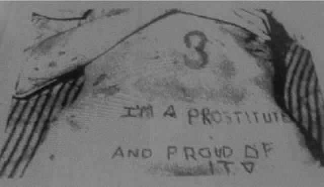 """Сильвию схватили, связали, затем Банижевски с помощью швейной иглы написала на животе девочки букву """"i"""". Потом она дала иглу Хоббсу, который предлагал вырезать на груди девочки фразу """"я проститутка и горжусь этим"""""""