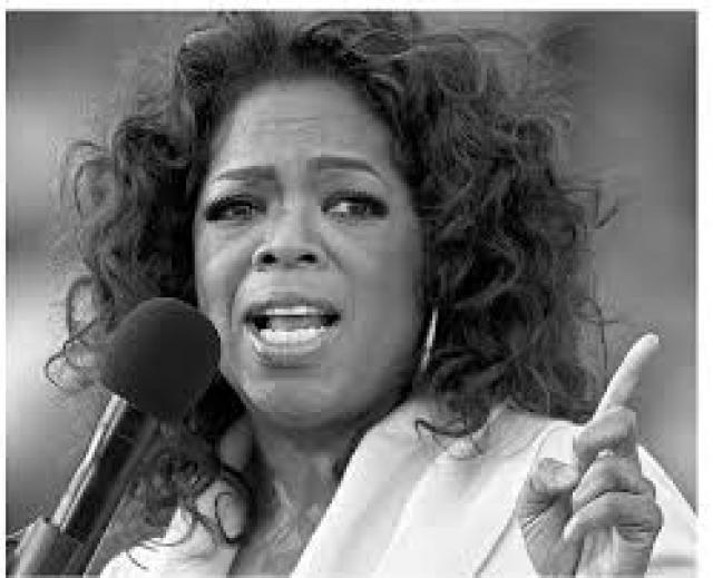 Некоторое время Опра жила настолько бедно, что вынуждена была ходить в одежде, сшитой из мешков картошки. Но, несмотря на все ей удалось стать первой и единственной чернокожей женщиной-миллиардером в истории.