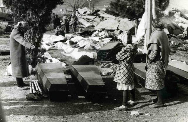 Гуманитарную помощь оказали 111 государств со всех континентов. На восстановительные работы приехали 45 тысяч строителей из всех союзных республик.