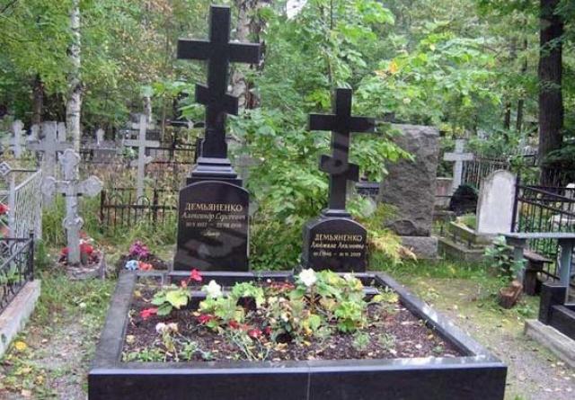 Могила Александра Демьяненко  РитуалРус