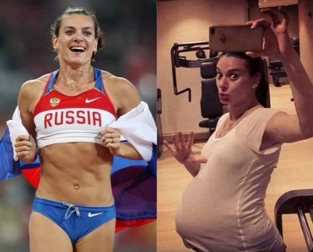 Елена Исинбаева, 36 лет. Елена стала во второй раз мамой в начале 2018 года. Для спортсменки такого уровня возвращение в форму - дело простое, что видно по ее фотографиям.