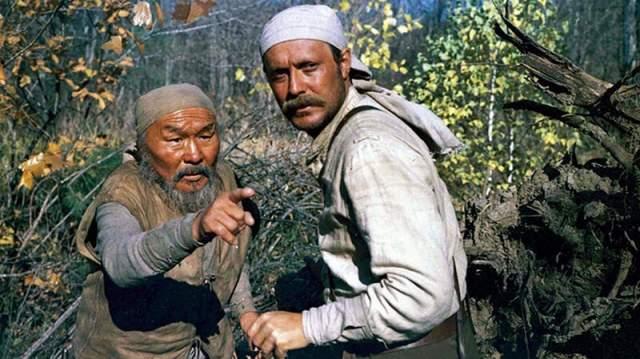 На создание фильма о Дерсу Узале - человеке, живущем в тайге, потратили 4 млн долларов.