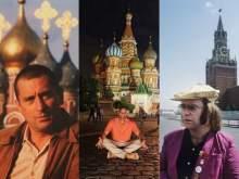 Фотографии отдыха зарубежных знаменитостей в России