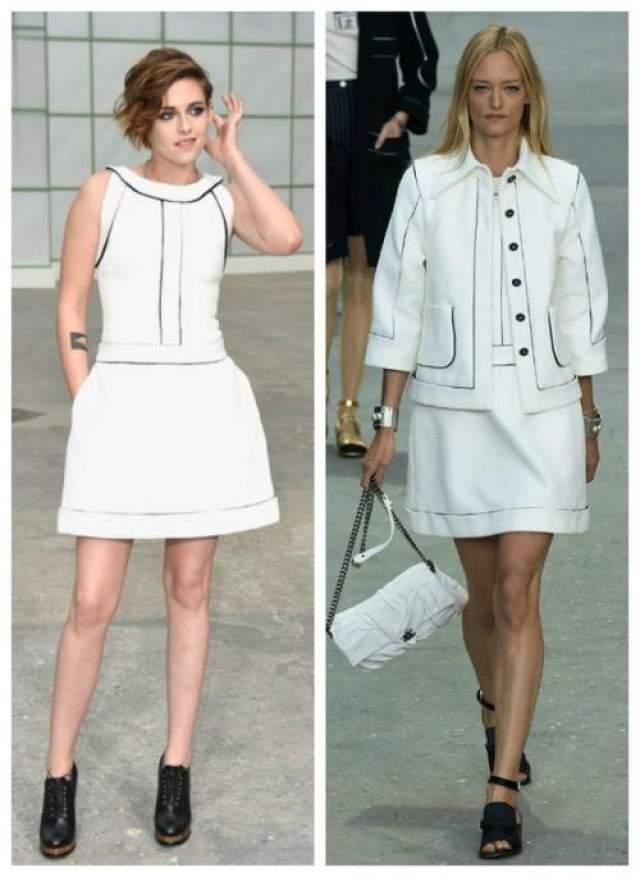 Кристен Стюарт в наряде из коллекции Chanel Spring 2015