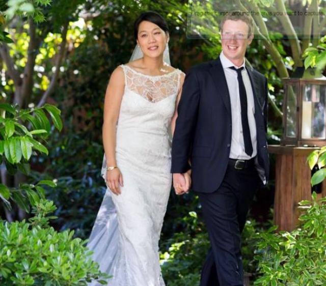 Марк Цукерберг и Присцилла Чан. 19 мая 2012 года двадцатисемилетняя Присцилла Чан вышла замуж за двадцативосьмилетнего Марка Цукерберга. Отец Присциллы беженец из Вьетнама. Мать уроженка Китая.