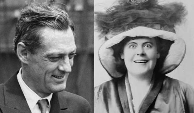 """1931 - Лайонел Берримор (""""Вольная душа"""")/Мари Дресслер (""""Мин и Билл"""")"""
