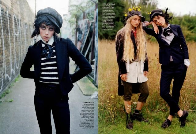 Ее снимали для таких журналов как Another Magazine, Various Editorials, Zoo Magazine, Bon Magazine, Amica, Elle UK, Playing Fashion, Elle Sweden, Love Magazine, Wonderland Magazine и Grit Magazine.