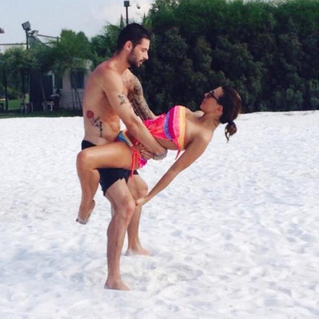 """""""Секс на пляже"""" представила Анна Седокова ."""