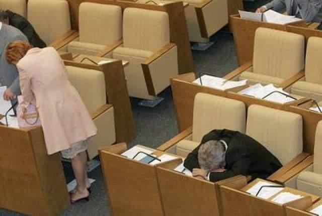 Очередное заседание Государственной Думы, 2004 год.