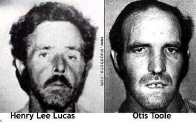 Генри Лукас и Оттис Тул В 1973 году эти двое встретились и сразу же полюбили друг друга. В 1983 году Лукаса арестовали за хранение оружия, и он вдруг начал хвастаться, что отнял немало жизней. В итоге пара призналась в убийстве сотни человек. Они знали детали убийств, которые могли знать только убийцы.