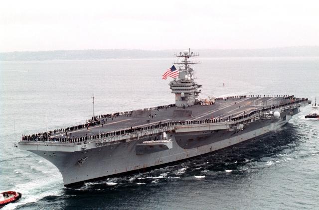 """The Washington Times сообщила, что тело было доставлено из Баграма на авианосец """"Карл Винсон"""" в V-22 Osprey в сопровождении двух истребителей ВМС США. По словам представителей США, бен Ладен был похоронен в море, потому что ни одна страна не приняла бы его останки."""