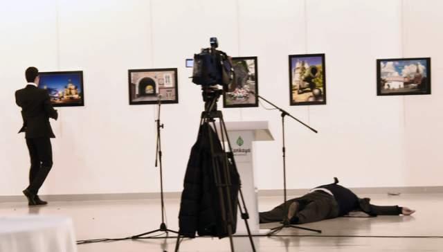 Убийство было снято камерой прессы; запись попала в интернат. Расследование преступления заняло более двух лет. Убийцей российского посла стал 22-летний Мевлют Мерт Алтынташ, который ранее служил полицейским в спецподразделении полиции Анкары.