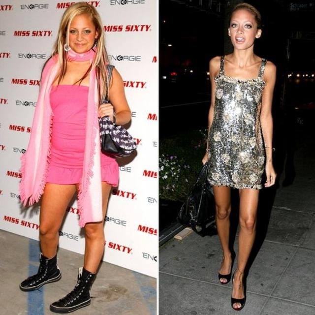 Николь Ричи. Актриса, певица и стилист также шокировала поклонников страшным похудением – звезда резко сбросила вес до 38 килограммов.
