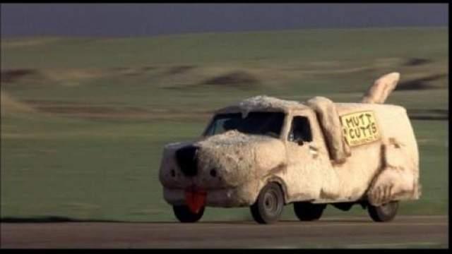 """Ford Econoline 1984 """"Тупой и еще тупее"""" (1994)."""