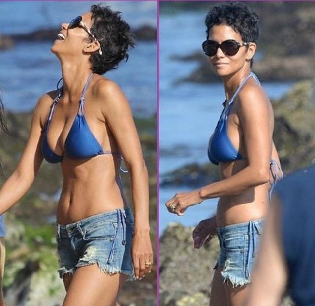 Когда мама двоих детей в очередной раз появилась на пляже во время отпуска в Малибу в соблазнительном синем бикини и коротких джинсовых шортах, ее вполне можно было принять за молодую девушку.