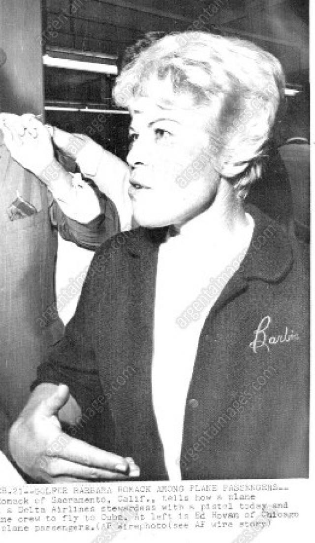 """Профессиональная гольфистка Барбара Ромак, оказавшаяся в том самолете, позже охарактеризовала свой полет весьма неожиданным образом: """"Это было великолепно и принесло мне большую известность, чем победа в турнире Women's Open""""."""
